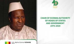 Embedded thumbnail for ECOWAS CHAIRS OF AUTHORITY FROM 1975 TO 2020