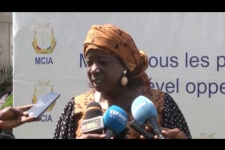 Embedded thumbnail for Réunions de la Semaine du Sahel et de l'Afrique de l'Ouest à Conakry
