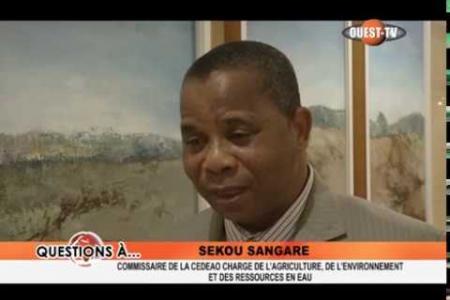 Embedded thumbnail for Interview CAERE à la Conférence des Chefs d'Etats de la CEDEAO