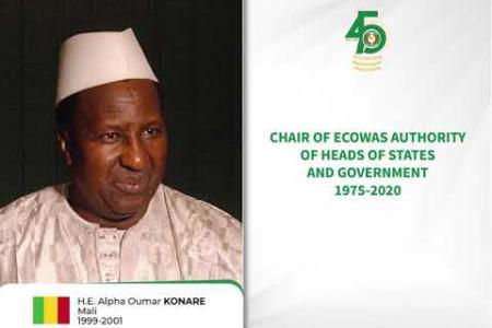 Embedded thumbnail for Chefs d'Etats et de Gouvernement, Présidents de la Cedeao de 1975 à nos jours