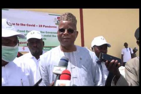 Embedded thumbnail for Remise de vivres au Nigéria : 23 août 2020 à Kano